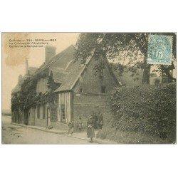 carte postale ancienne 14 DIVES. Les Cuisines Hostellerie Guillaume le Conquérant 1907