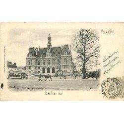 carte postale ancienne K. 78 VERSAILLES. L'Hôtel de Ville 1902. edition Kunzli