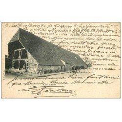 carte postale ancienne 14 DIVES. Les Halles 1903