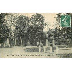 carte postale ancienne K. 78 MAISONS-LAFFITTE. Avenue Malesherbes