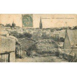 carte postale ancienne 79 AIRVAULT. Vue du Village vers 1906