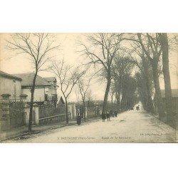 carte postale ancienne 79 BRESSUIRE. Route de Saint-Porchaire