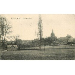 carte postale ancienne 79 GEAY. Le Village