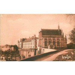 carte postale ancienne 79 THOUARS. Château bâti par Marie de la Tour