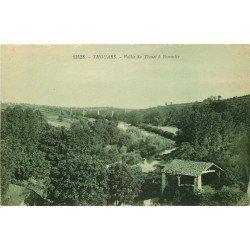 carte postale ancienne 79 THOUARS. Vallée du Thouet à Pommier