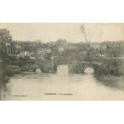 carte postale ancienne 79 THOUARS. Vue générale 1916