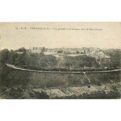 carte postale ancienne 79 THOUARS. Vue générale 1922
