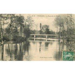 carte postale ancienne 79 THOUARS. La Passerelle de Missé 1911