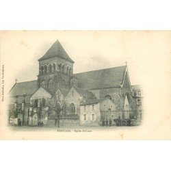 carte postale ancienne 79 THOUARS. Eglise Saint-Laon vers 1900