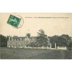 carte postale ancienne 79 MAZIERES-EN-GATINE. Château du Petit Chêne 1908