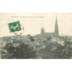 carte postale ancienne 79 PARTHENAY. Vue prise de la Tour de l'Horloge 1908
