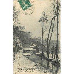 carte postale ancienne 79 PARTHENAY. Le Moulin de Saint-Paul 1910