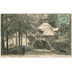 carte postale ancienne 14 FALAISE. Le Lavoir Marie Joly 1907 avec Photographe