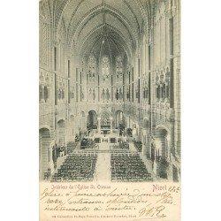 carte postale ancienne 79 NIORT. Eglise Saint-Etienne 1902. Collection Gustave Boucher