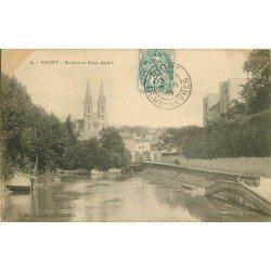 carte postale ancienne 79 NIORT. Donjon et Saint-André 1905