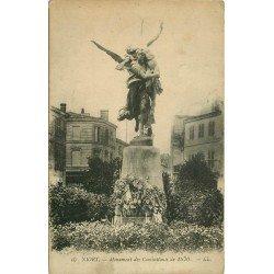 carte postale ancienne 79 NIORT. Monument des Combattants de 1870