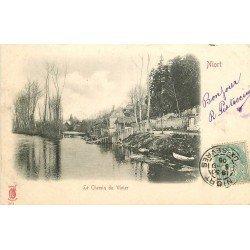 carte postale ancienne 79 NIORT. Chemin du Vivier 1905