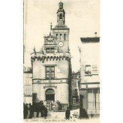 carte postale ancienne 79 NIORT. Ancien Hôtel de Ville