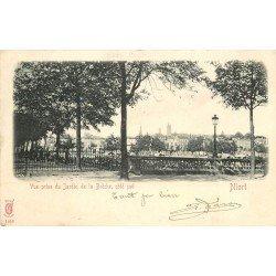 carte postale ancienne 79 NIORT. Jardin de la Brèche 1904