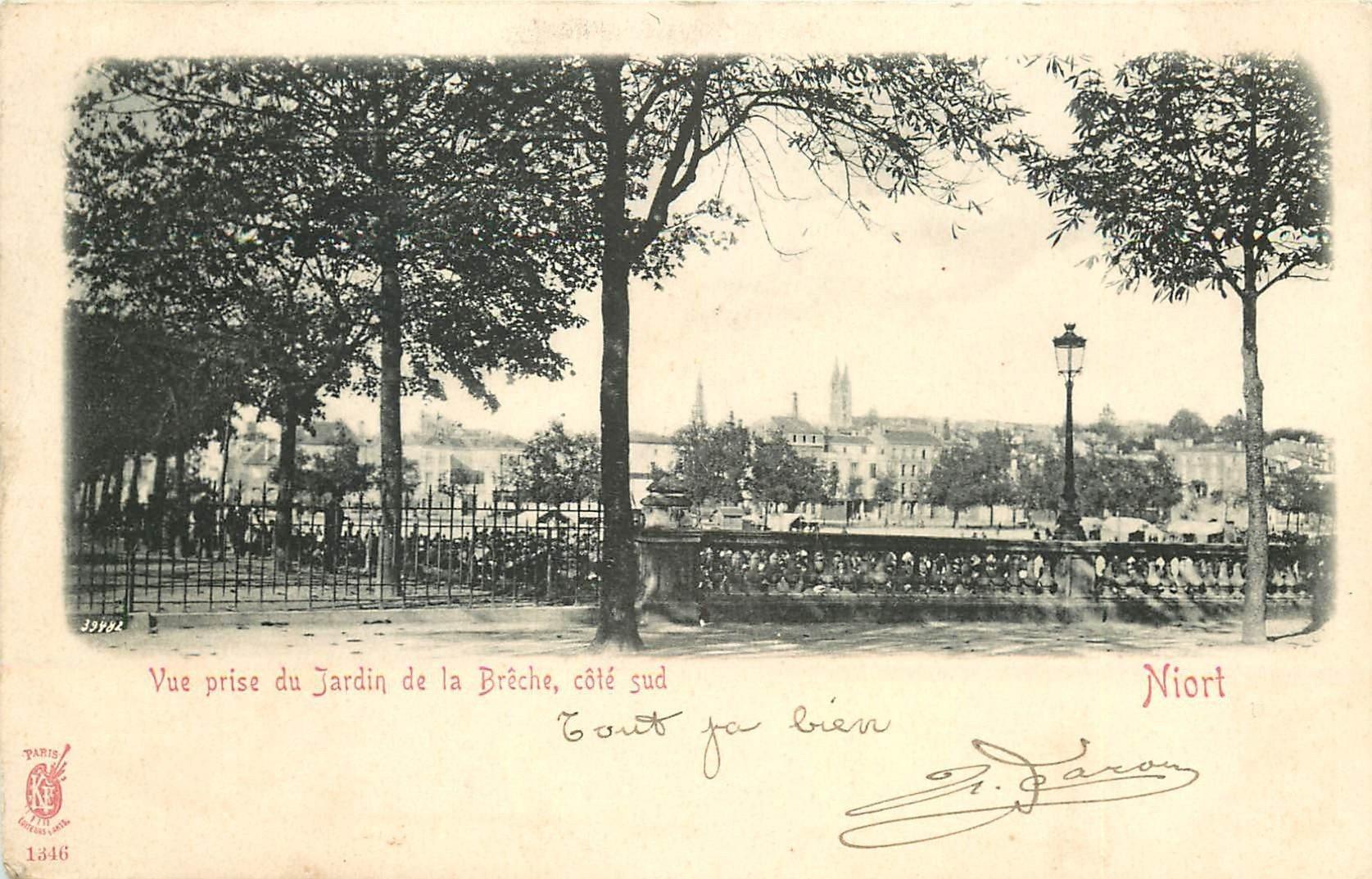 79 niort jardin de la br che 1904 for Jardin royal niort