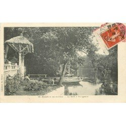 carte postale ancienne 79 NIORT. Lavandière sur la Sèvre à Saint-Lignaire 1914