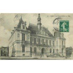 carte postale ancienne 79 NIORT. Le Nouvel Hôtel de Ville 1909