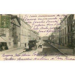 carte postale ancienne 79 NIORT. La Rue de la Gare 1918