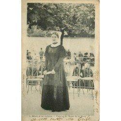 carte postale ancienne 79 NIORT. Costume du Marais de la Sèvre 1920
