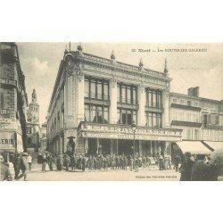 carte postale ancienne 79 NIORT. Les Nouvelles Galeries