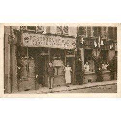 77 MEAUX. Restaurant Bleu 1936
