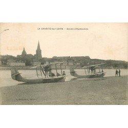 58 LA CHARITE SUR LOIRE. Escale d'Hydravions 1931. Avions et Transports