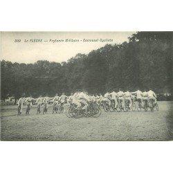 72 LA FLECHE. Prytanée Militaire. Carrousel Cycliste. Sportifs et Vélo