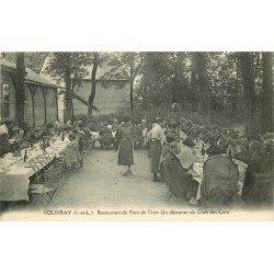 37 VOUVRAY. Restaurant du Pont de Cisse. Un Déjeuner du Club Automobile des Cent