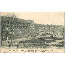 carte postale ancienne 02 GUISE. habitations du personnel de la Fonderie et manufacture