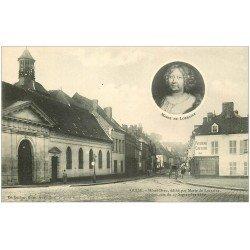 carte postale ancienne 02 GUISE. Hôtel Dieu et Patisserie