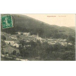 carte postale ancienne 81 AIGUEFONDE. Le Village 1916