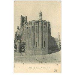 carte postale ancienne 81 ALBI. Cathédrale Sainte-Cécile. ND Phot.