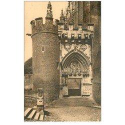 carte postale ancienne 81 ALBI. Cathédrale Sainte-Cécile. Porte Dominique de Florence