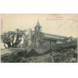 carte postale ancienne 81 AMBIALET. Le Prieuré (fine nervure)...