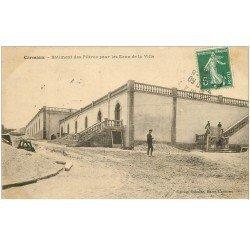 carte postale ancienne 81 CARMAUX. Bâtiment des filtres pour les Eaux de la Ville 1908