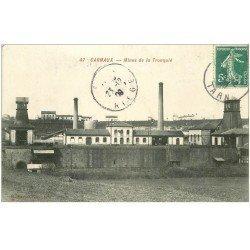 carte postale ancienne 81 CARMAUX. Mines de la Tronquié 1909