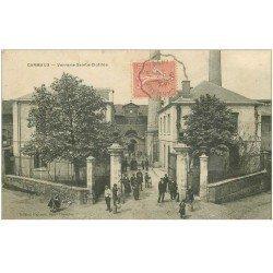carte postale ancienne 81 CARMAUX. Verrerie Sainte-Clotilde 1905