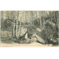 carte postale ancienne 81 CASTRES LE SIDOBRE. Chaos de la Rouquette près Lezert
