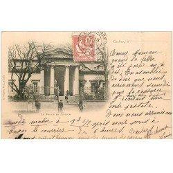 carte postale ancienne 81 CASTRES. Le Palais de Justice 1902