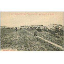 carte postale ancienne 81 LABRUGUIERE. Camp de Causse. Infirmerie et Cuisines