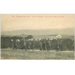 carte postale ancienne 81 LABRUGUIERE. Camp de Causse. Officiers et Mess
