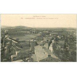 carte postale ancienne 81 LABRUGUIERE. Panorama pris du Clocher