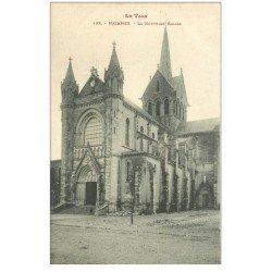 carte postale ancienne 81 MAZAMET. La Nouvelle Eglise