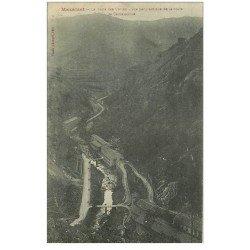 carte postale ancienne 81 MAZAMET. Route des Usines et de Carcassonne 1915