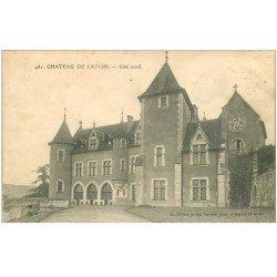 carte postale ancienne 82 CAYLUS. Le Château 1907